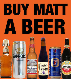 Buy Matt Granger a beer!