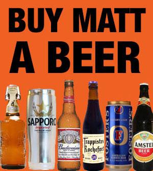 Buy Matt Granger a beer!