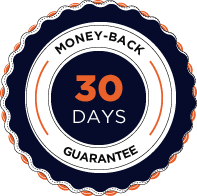 30 days money back guarantee